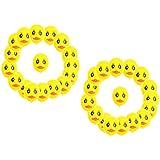 Perfeclan 約40個 アヒルバルーン 黄色 ラテックスバルーン 動物風船 子供 誕生日パーティー 装飾セット