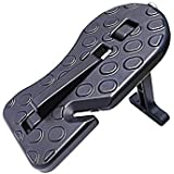 Car Doorstep Hook, AOLVO Vehicle Hooked with Belt Cutter Safety Hammer Jeep Foot Pegs Function Intelligent Car Rooftop Doorstep, Easy Access Car Step Ladder to Rooftop Roof Rack for Jeep Car SUV