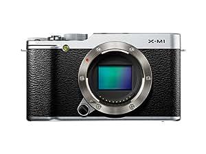 FUJIFILM ミラーレス一眼カメラ X-M1 ボディ 1630万画素APS-C シルバー F FX-X-M1S