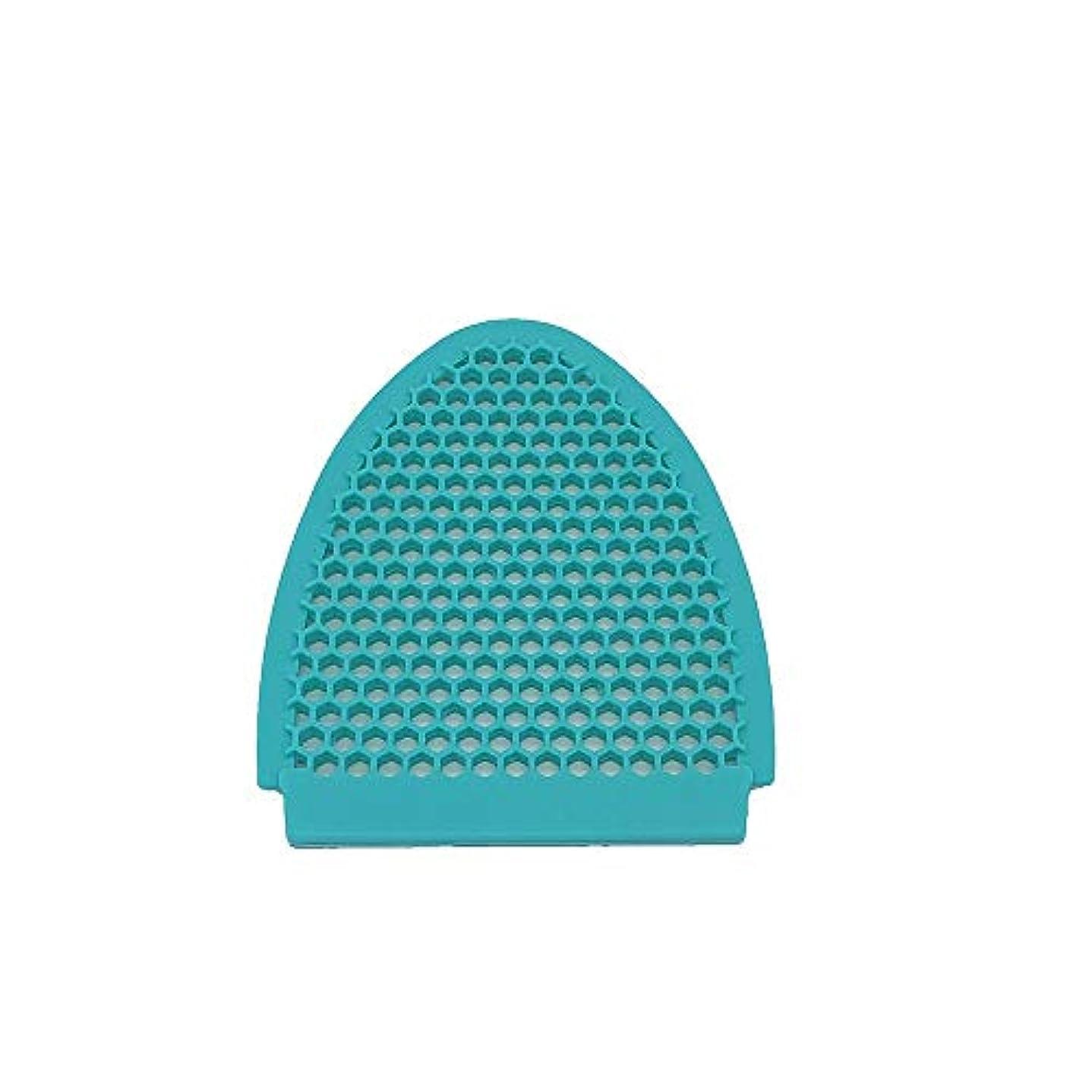 岩追い出す発生する5個セット シリコンブラシ シリコンスポンジ 洗顔 体洗い 多機能 角質除去 毛穴清潔 洗顔用フェイスブラシ (Color : Green)