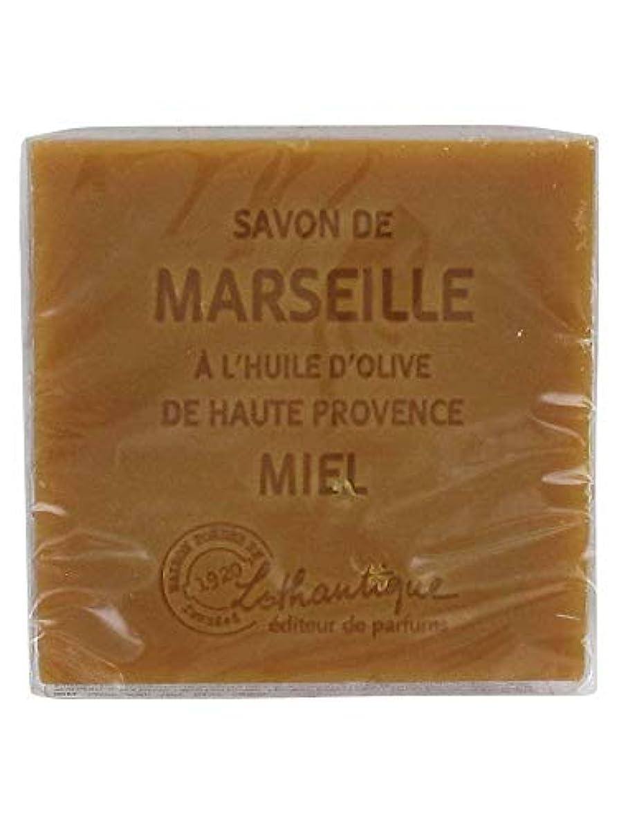 口ひげプリーツ外側Lothantique(ロタンティック) Les savons de Marseille(マルセイユソープ) マルセイユソープ 100g 「ハニー」 3420070038074