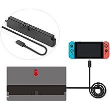任天堂 Nintendo Switch ドックセット用 Type C延長ケーブル 交換ケーブル 高速充電対応 Type-C 変換コネクタ USBケーブル