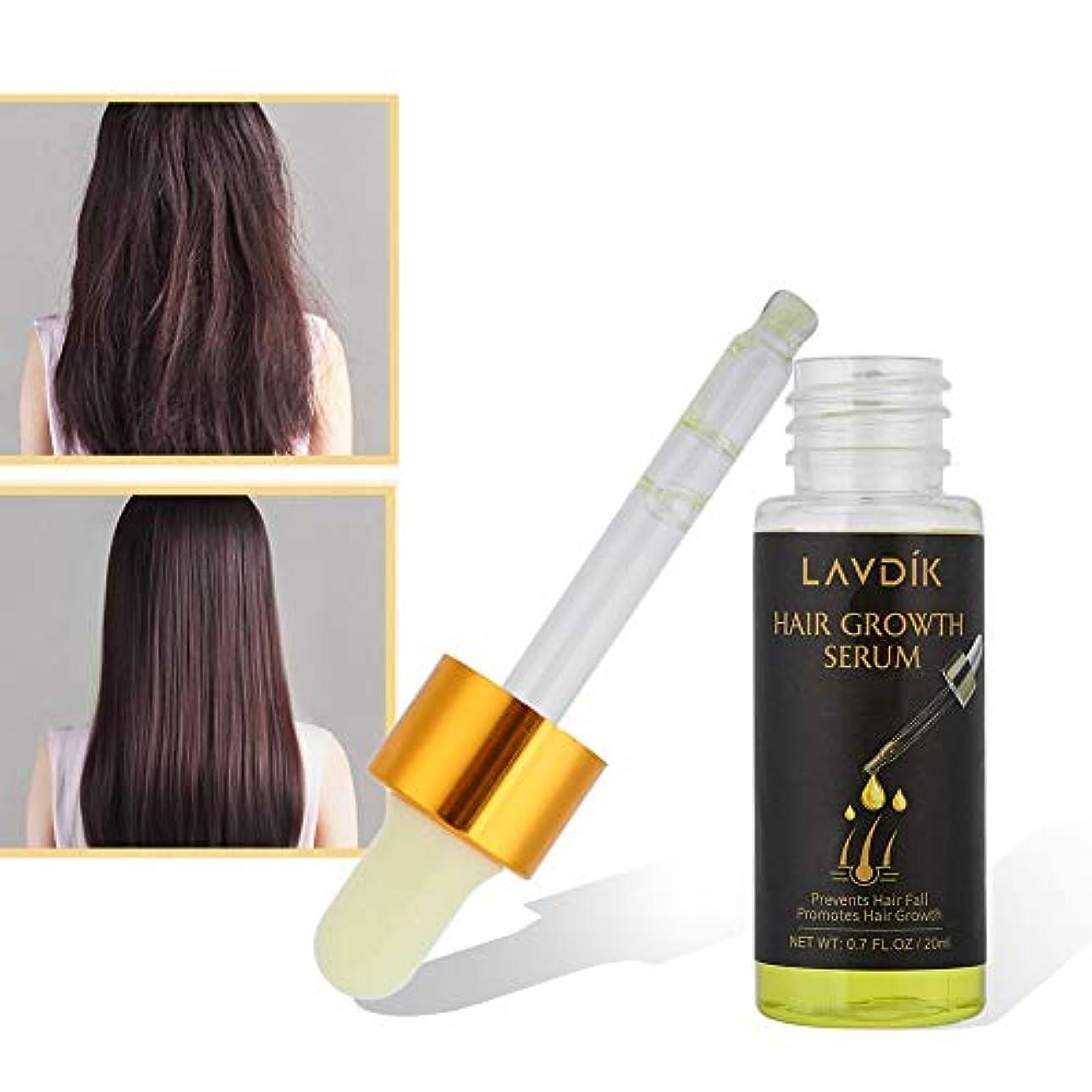 小間伝染病ゼロ20ml ヘアケアエッセンシャルオイル 速い髪の成長、抗脱毛症 - 栄養価の高い滑らかで健康的で強いヘアオイルの修理