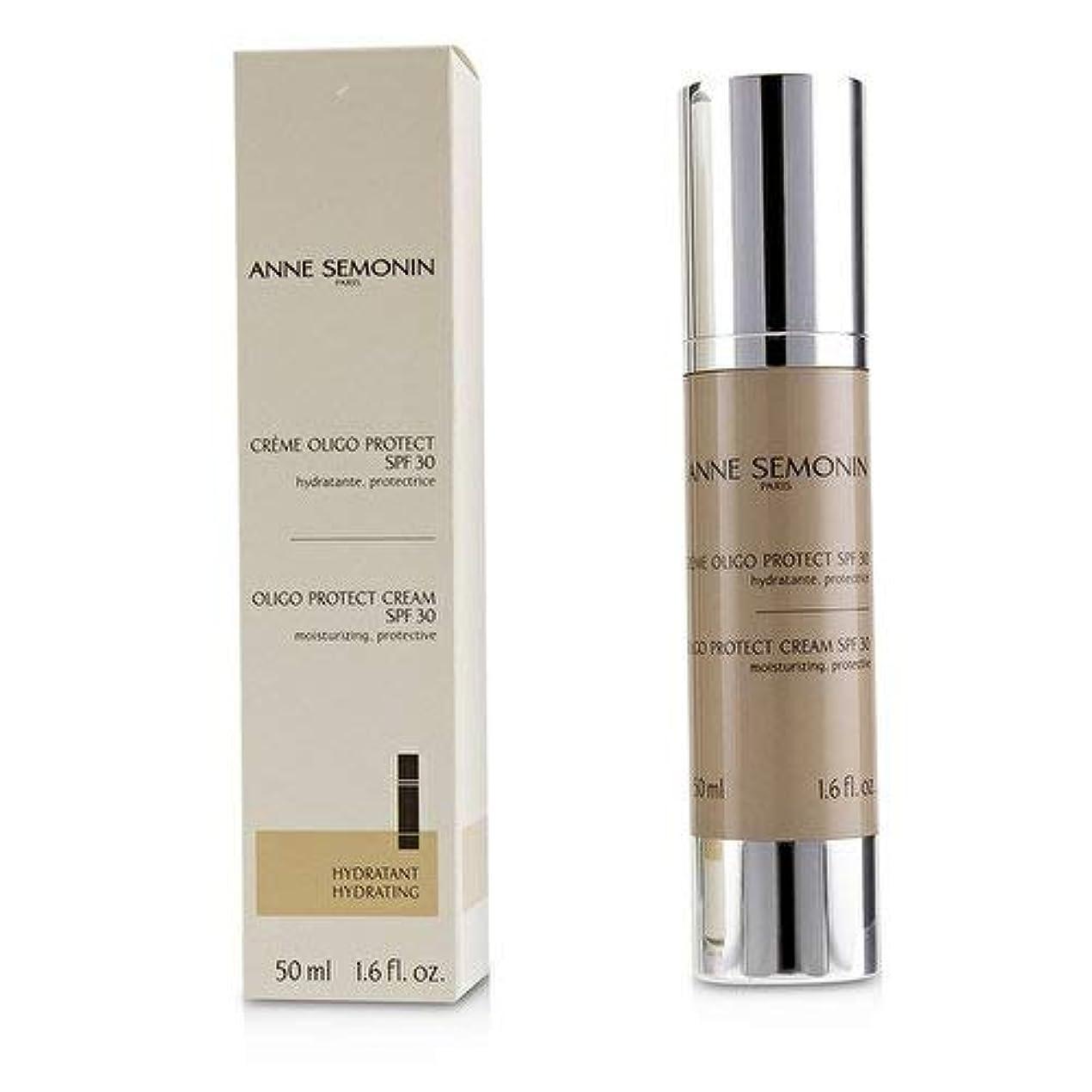 ペイン暴力貧しいAnne Semonin Oligo Protect Cream SPF 30 50ml/1.6oz並行輸入品