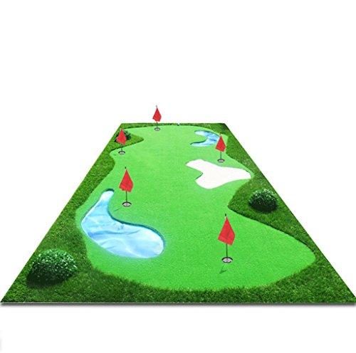 Dgfゴルフマット、インドアPractice Blanket ( l300cm w150cm )送信パター+ボール