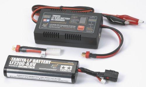 バッテリー&充電器シリーズ タミヤ・LF2200-6.6V レーシングパック & DC充電器セット 55104