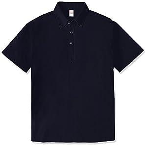 (ユナイテッドアスレ)UnitedAthle 5.3オンス ドライカノコ ユーティリティー ポロシャツ(ボタンダウン) 505201 [メンズ] 086 ネイビー L