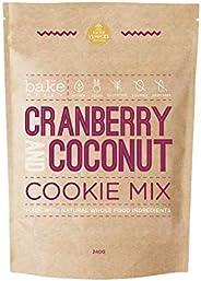Cranberry & Coconut Cookie Mix (Vegan, Gluten F