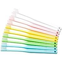 つまようじ法 歯ブラシ V-7 コンパクトヘッド 歯科向け 10本入