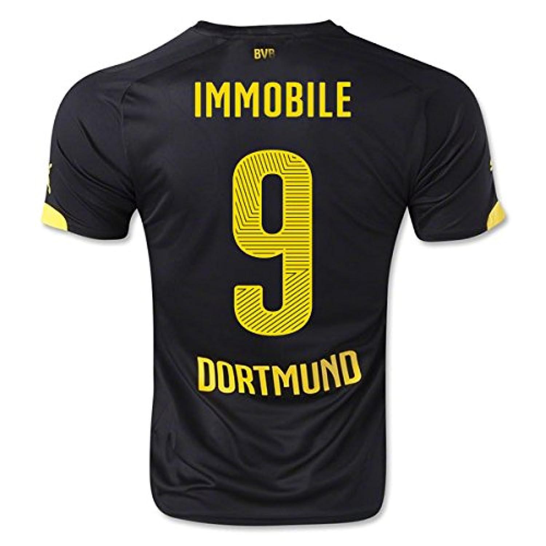 2014-15 Borussia Dortmund Away Shirt (Immobile 9)