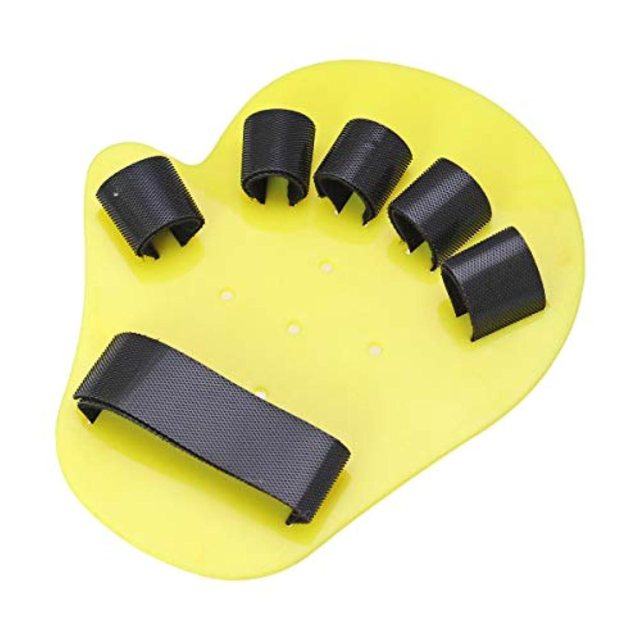 厳密に骨の折れる信念SUPVOX 指の装具キッズ指トレーニングボード指副木指用脳卒中片麻痺5-10年