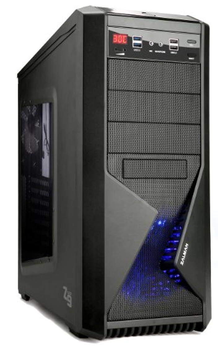 海港職業開拓者ZALMAN ATXミドルタワー PCケース Z9 USB3.0搭載モデル Z9U3 ブラック (Z9Plus後継モデル) 日本正規代理店品 (CS3899) Z9U3