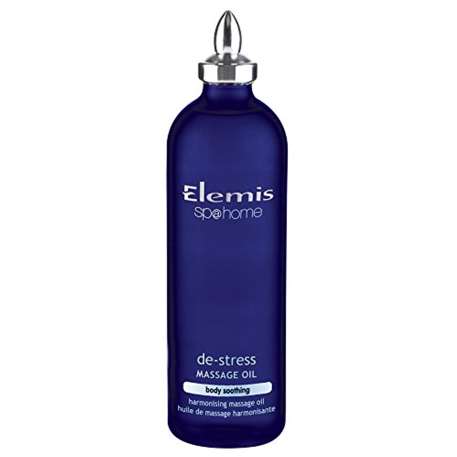に関して軸スクラップエレミスストレス解消マッサージオイル100ミリリットル (Elemis) (x6) - Elemis De-Stress Massage Oil 100ml (Pack of 6) [並行輸入品]