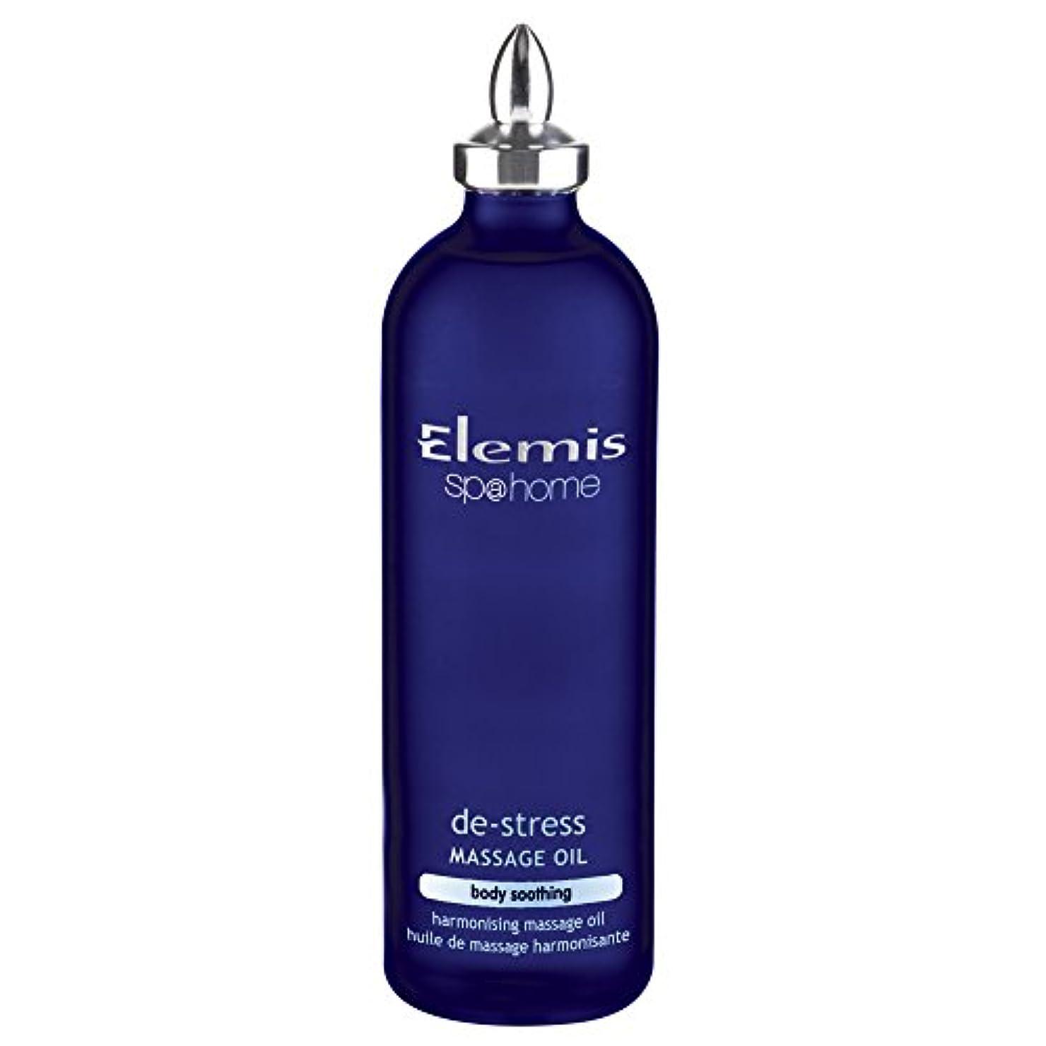 知的フォルダロビーエレミスストレス解消マッサージオイル100ミリリットル (Elemis) (x6) - Elemis De-Stress Massage Oil 100ml (Pack of 6) [並行輸入品]