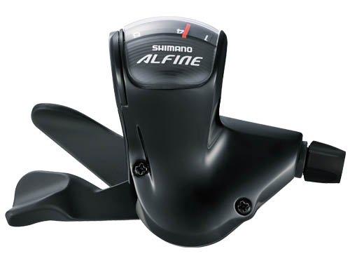 SHIMANO (シマノ) ALFINE SL-S503 右シフトレバー8S ブラック ESLS503210LLL