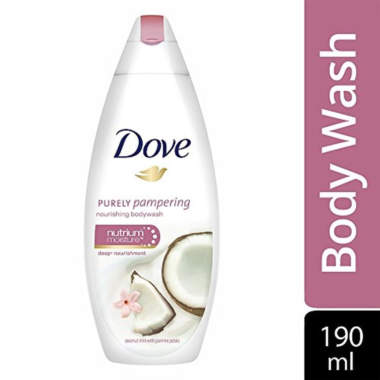 レシピ隣人気づかないDove Purely Pampering Coconut Milk and Jas Petals Body Wash, 190ml