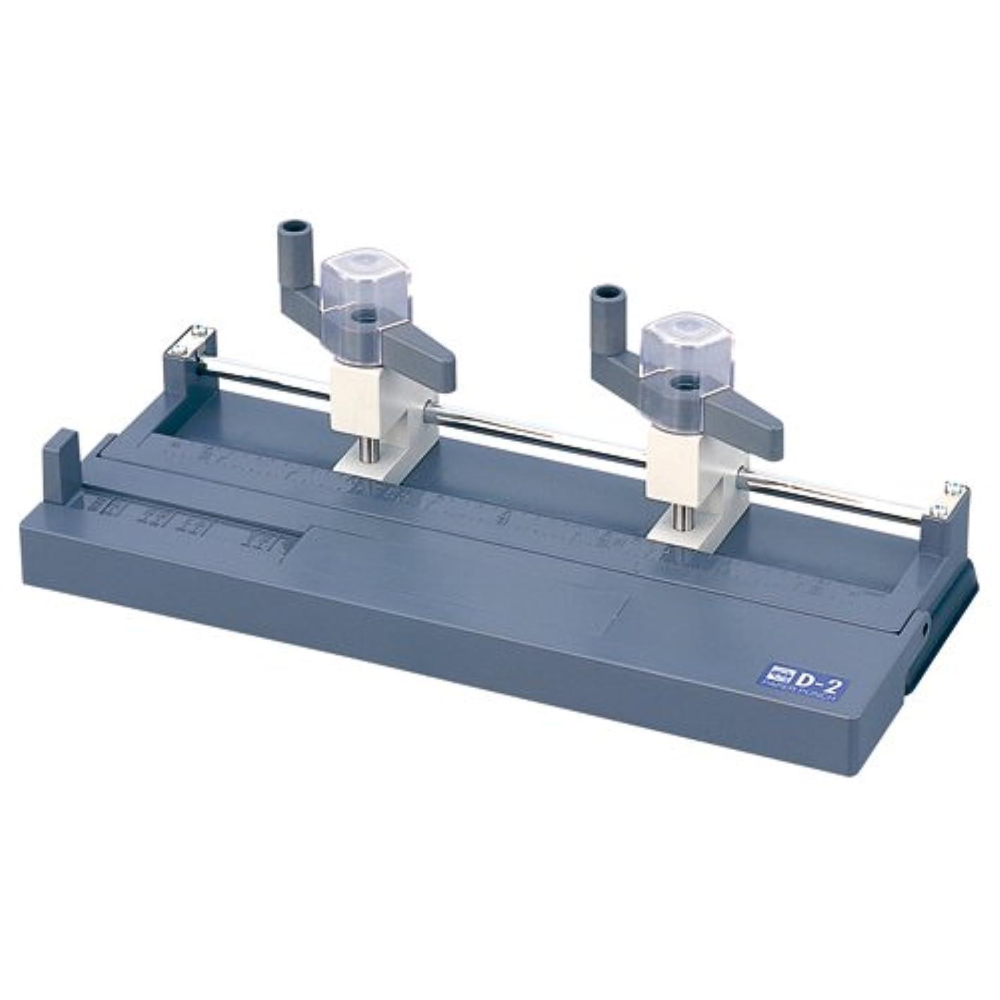 比べるシーフード繁栄する[オープン工業 2109190] ドリル式2穴パンチ D 2 ライトグレー