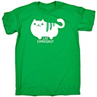 123t Kids Funny Tee - Cat Enthusiast - Childrens Top T-Shirt T Shirt