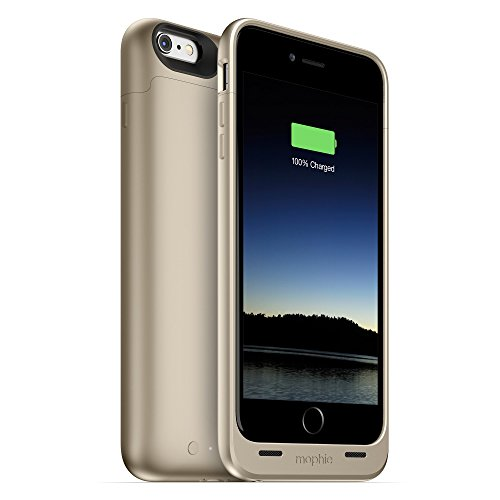 mophie juice pack for iPhone 6/6s  6/6s Plus バッテリー ケース (iPhone 6/6s Plus, ゴールド)