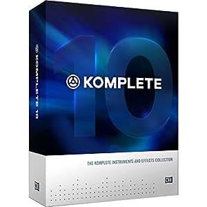 Native Instruments インストゥルメント/エフェクト・コレクション KOMPLETE 10 CRG