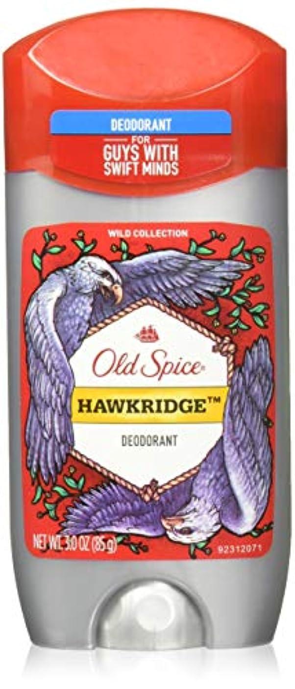 エコーご飯乏しいOld Spice Deodorant, Hawkridge, 3 Oz by Old Spice