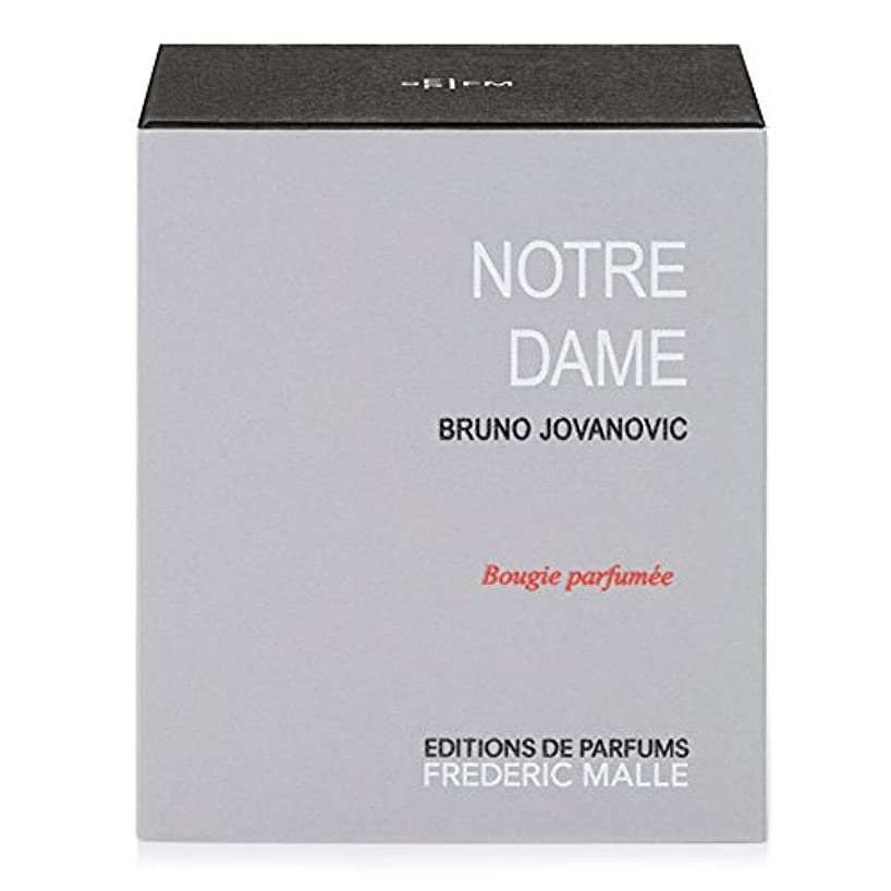 ボリューム憤るストッキングフレデリック?マルノートルダム香りのキャンドル220グラム x6 - Frederic Malle Notre Dame Scented Candle 220g (Pack of 6) [並行輸入品]