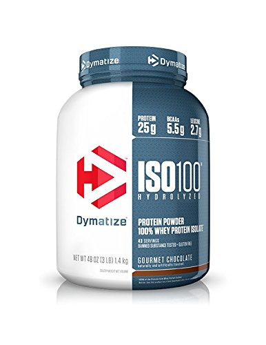 ISO 100 加水分解100%ホエイプロテインアイソレート 1342g グルメチョコレート [海外直送品]
