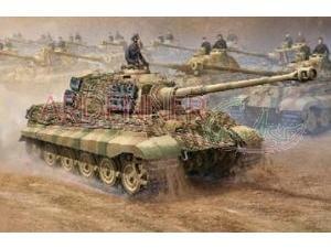1/16 ドイツ軍 キングタイガー/フルインテリア 2in1 (ヘンシェル/ポルシェ砲塔)