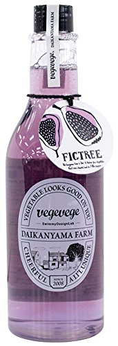 vegevegeバスジェル フィグ(イチジク)の香り 490ml(バブルバスとして約20回分)
