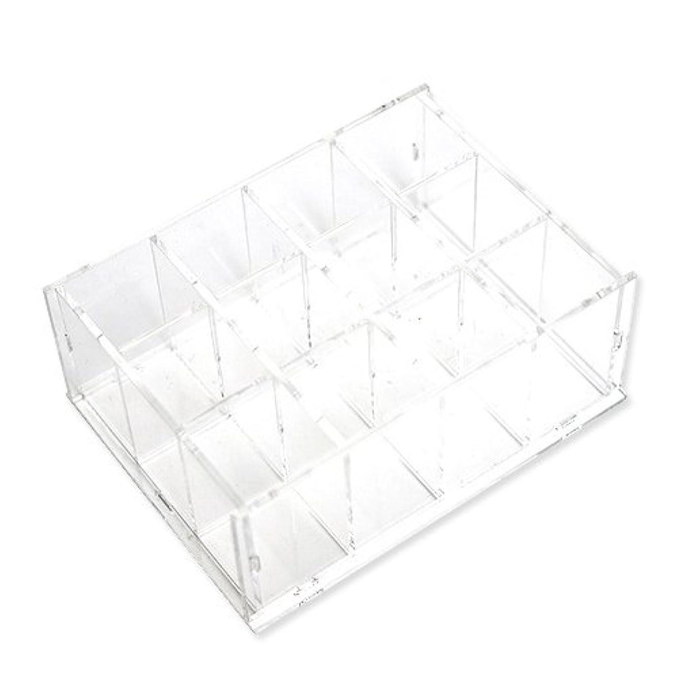 ボット畝間反対するDIY 透明 アクリル コスメ 収納ボックス Mini long stick case [並行輸入品]