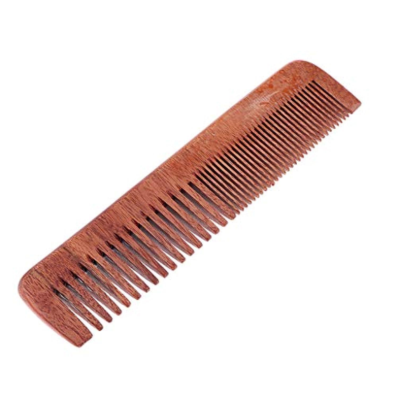 Sharplace 木製コーム ヘアブラシ ヘアコーム 帯電防止櫛 ヘアダイコーム ヘアカラーリング スタイリング 用品