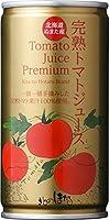 沼田町 北のほたる 完熟トマトジュースプレミアム(無塩) 190g缶 30本入