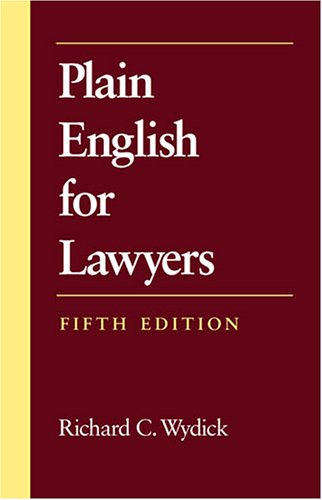 Download Plain English for Lawyers 1594601518