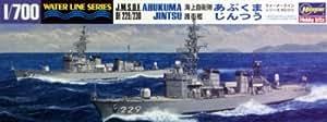 ハセガワ 1/700 ウォーターラインシリーズ WL013 護衛艦あぶくま/じんつう 1/700 プラモデル、艦船モデル