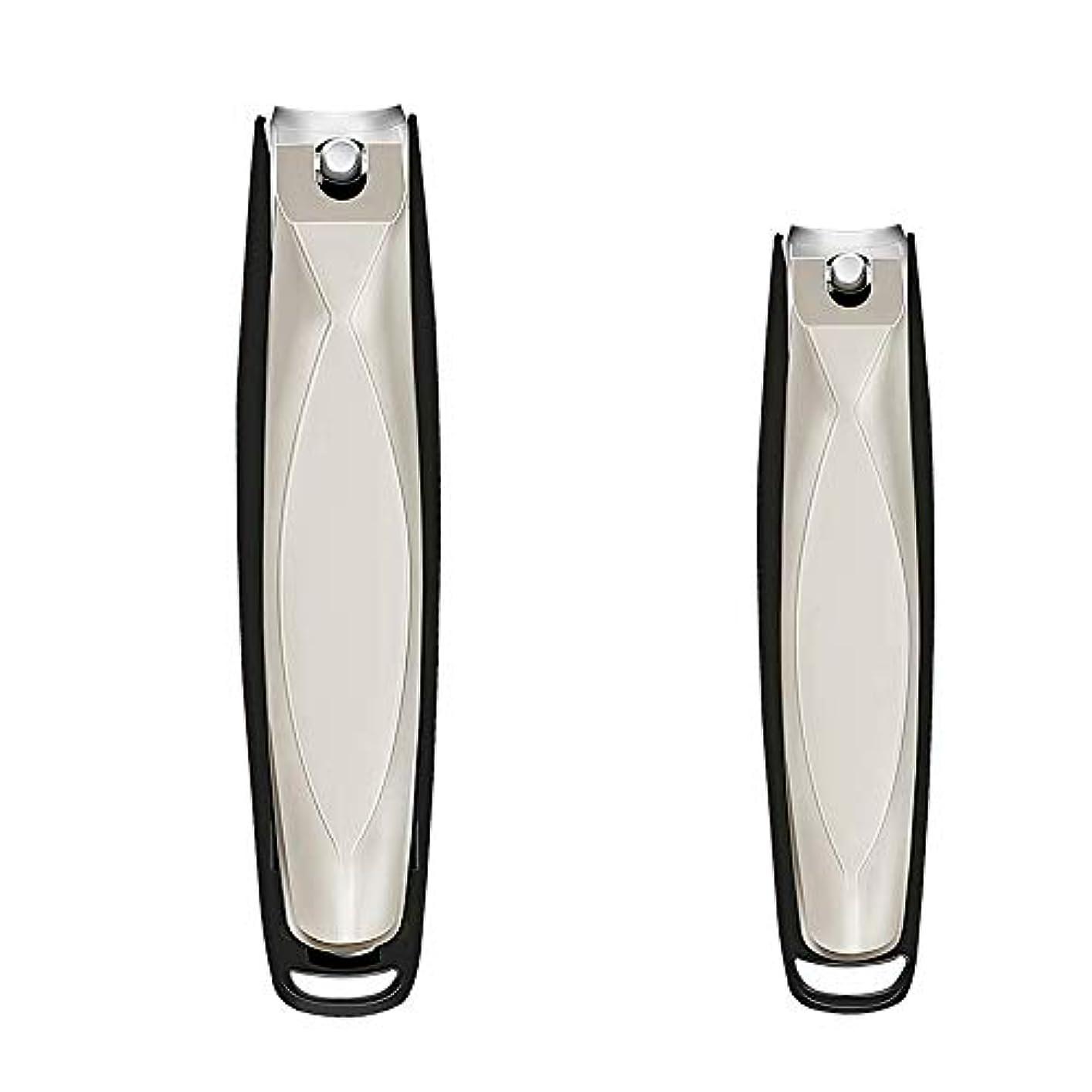 カブ一方、艶爪切りステンレス製つめきり 飛び散り防止爪切り 用などに対応可能家庭用/介護用/医療