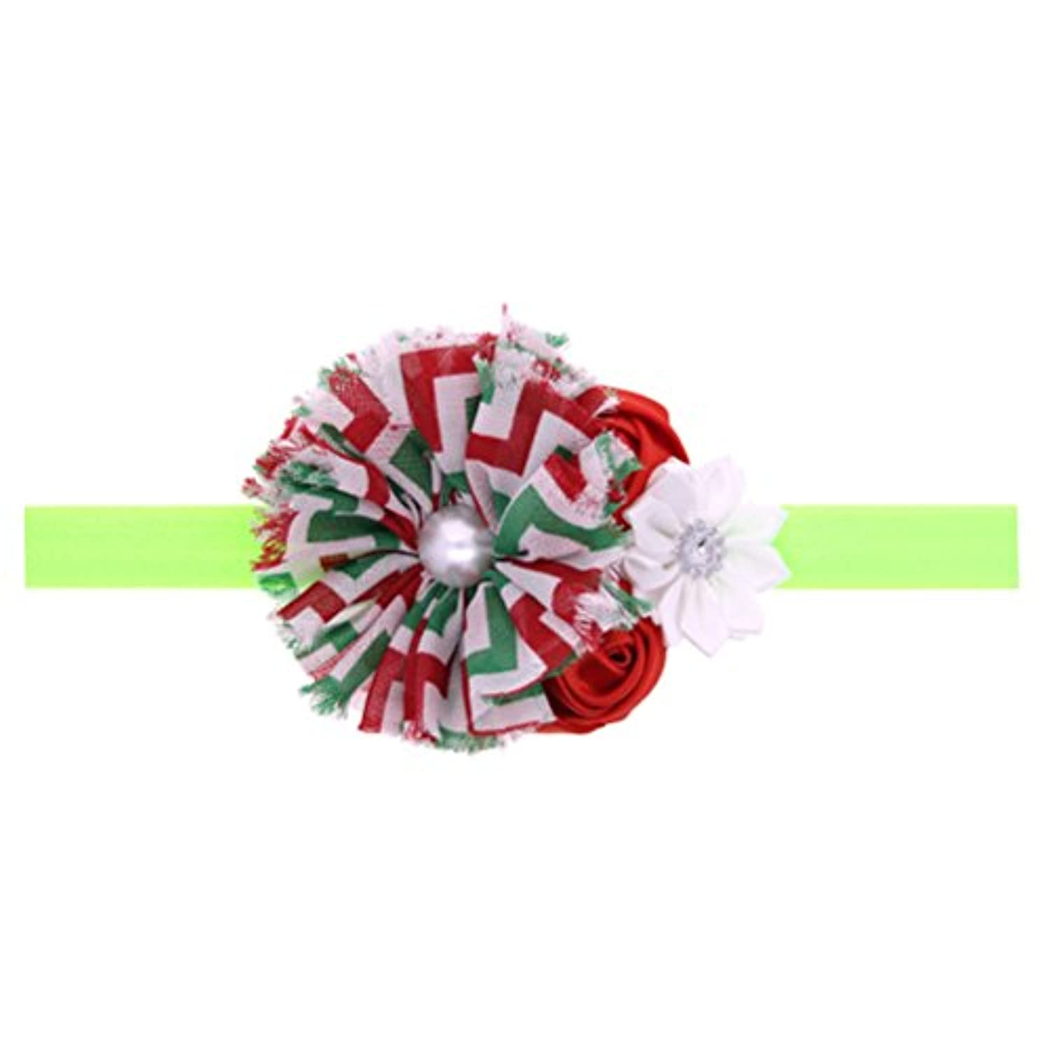 Zhhlaixing ベビー小物 Christmas Baby Girls Toddler Kids Stretch bouquet Headband Hairband Hair Accessories