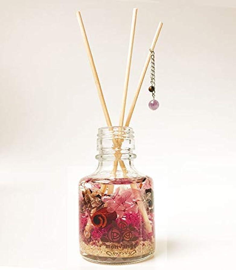 胸渇き植物のトリニティディフューザー サッパリ浄化 ブレンド アンシェントメモリーオイル ハーバリウム 天然石 アロマディフューザー