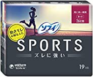 Sofy Sports Day Ultra Slim Wing 26cm 19s, 19 count