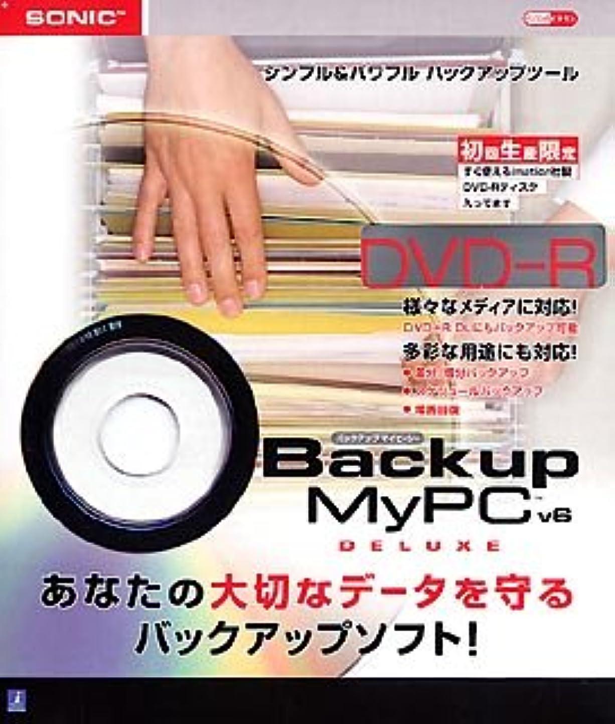 俳優鎮痛剤誘導Backup MyPC Deluxe version 6