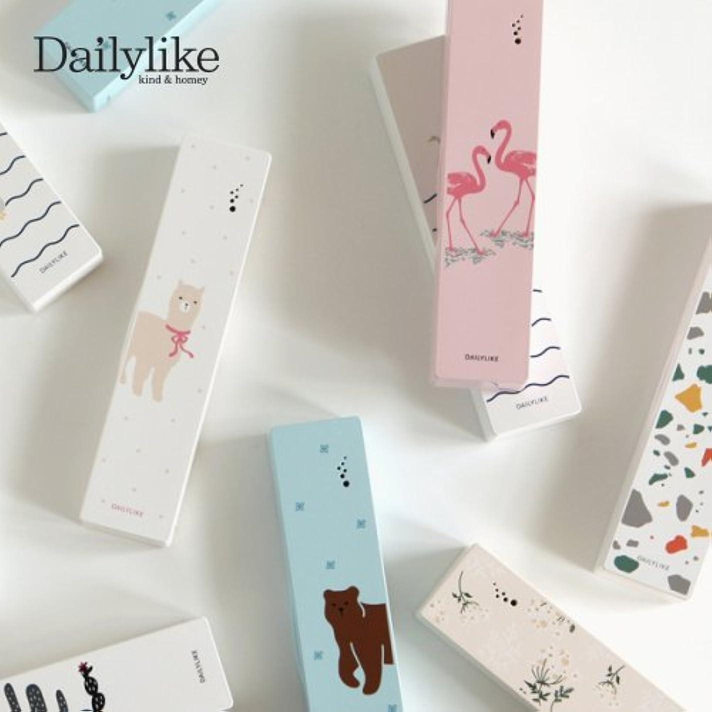 ハミングバード社会私の【Dailylike】携帯用歯ブラシ除菌器(Portable Toothbrush Sterilizer) (Terrazzo)