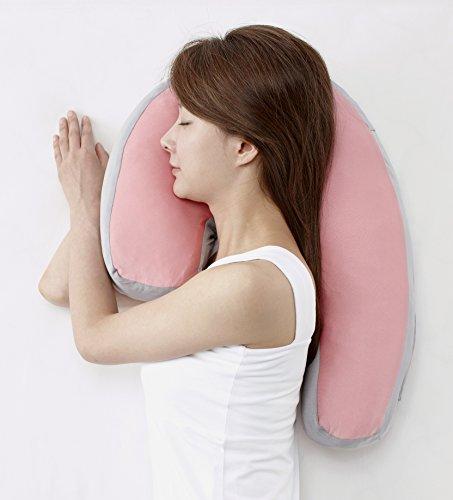 フランスベッド 横向き寝枕 Sleep Vantage(スリープ バンテージ) ピンク