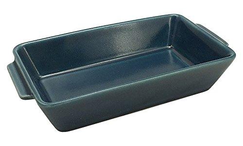 波佐見焼 オーブンウェア スクエア (L) 23.5cm ブルー 17453
