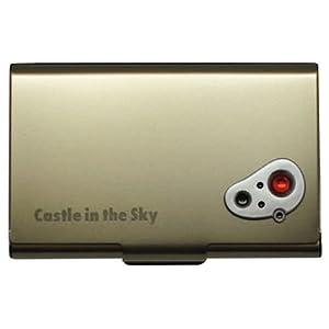 天空の城ラピュタ メタルカードケース アンティーク