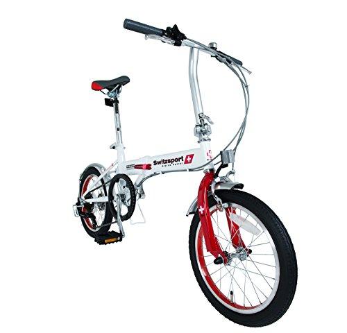 VARZO-II〔バルツォII〕 16インチ ミニフォールディングバイク 【SHIMANO Tourney】 シマノ6段変速搭載 折りたたみ自転車 [チェーンホイール48T仕様] 改良型