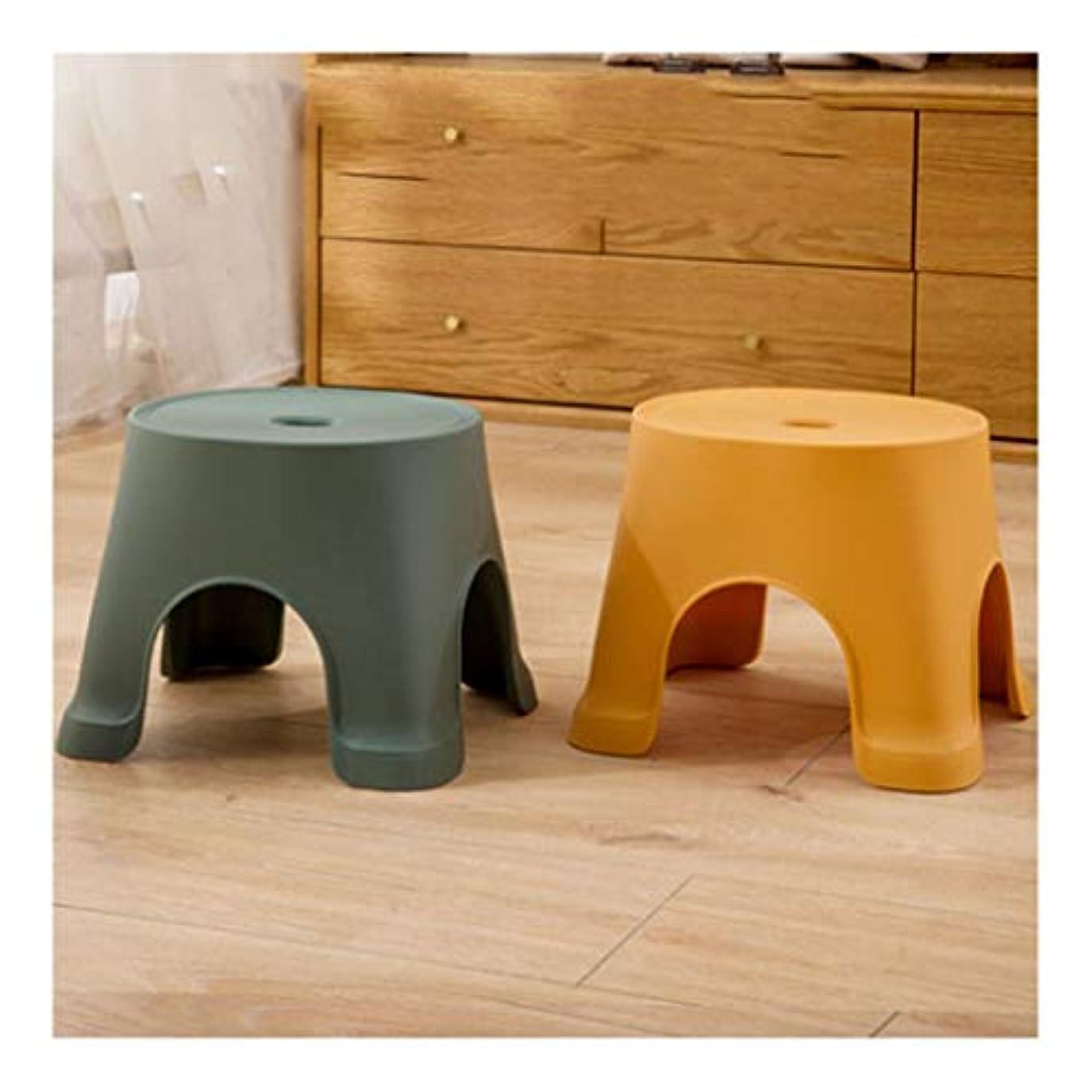 形成床朝ごはんプラスチック製のバススツール、滑り止めのバスルームフットマッサージチェア大人の高齢妊婦障害児の家庭用および商用のツーピーススーツ (Color : Green)