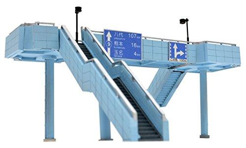 トミーテック ジオコレ 情景コレクション 情景小物119 大型 歩道橋 ジオラマ用品