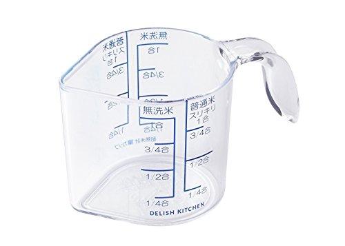 【無洗米や精白米の1合を計量】米用計量カップ人気おすすめ商品10選のサムネイル画像