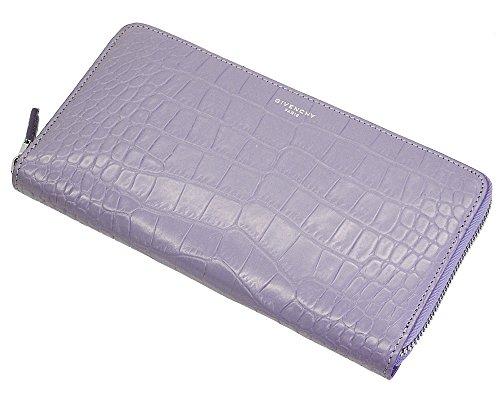 (ジバンシィ)GIVENCHY メンズ 財布 クロコダイル ブルー BK06040133 452 ライトブルー [並行輸入品]