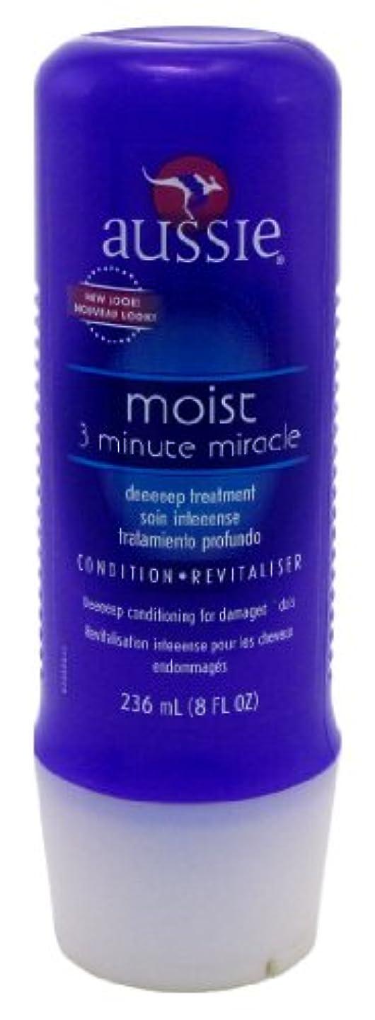 受取人セッティングずんぐりしたAussie Deeeeep 3 Minute Miracle Moisture Treatment 8 oz. (Case of 6) (並行輸入品)
