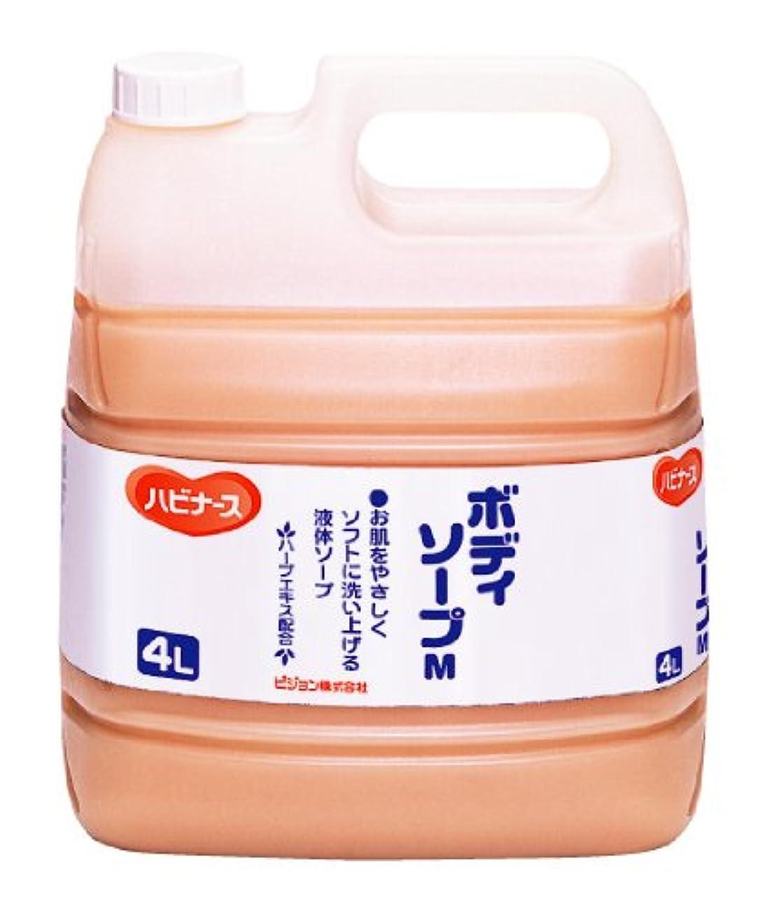紫の急速な致命的ハビナース ボディソープ 4L [業務用]